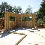 maisons ossature bois - structure