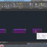 Réalisations - Plan de structure sur logiciel CAO